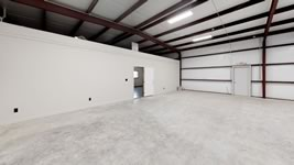 Fully insulated large commercial metal building with office space